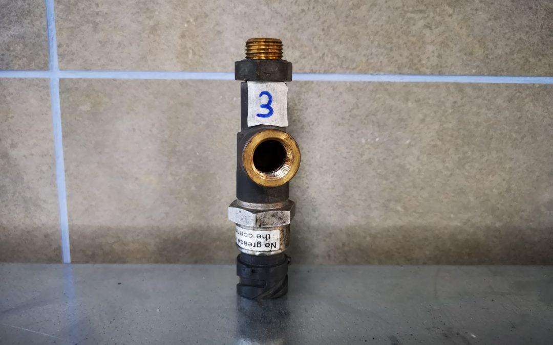 Sensor de presión Suspensión Eje trasero
