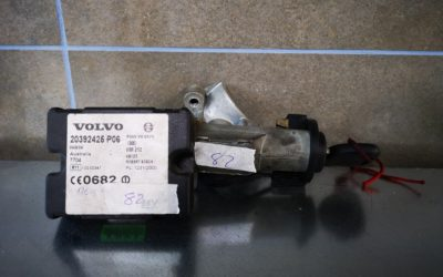 Inmovilizador Volvo con su llave
